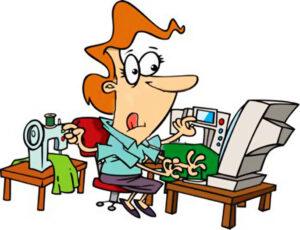 George Bolzoni Busy Mom